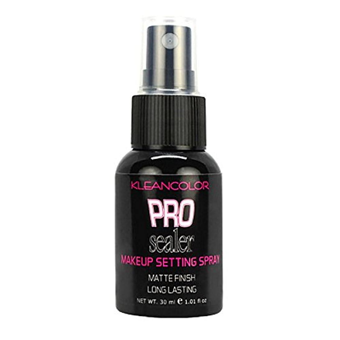 技術的な可能シェルKLEANCOLOR Pro Sealer Makeup Setting Spray - Matte Finish (並行輸入品)