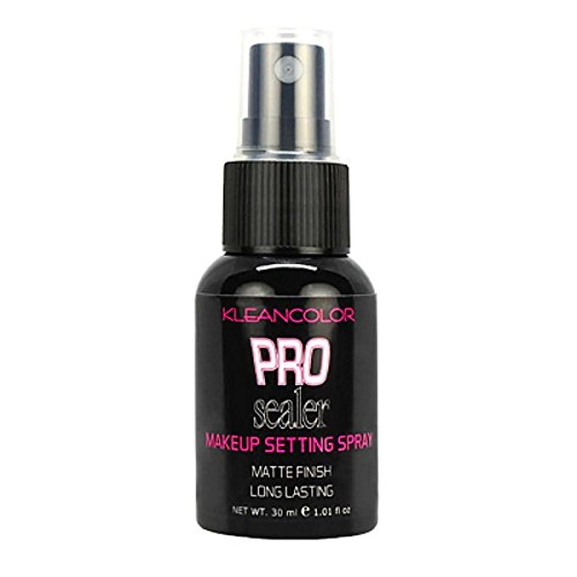ビート豆無人KLEANCOLOR Pro Sealer Makeup Setting Spray - Matte Finish (並行輸入品)
