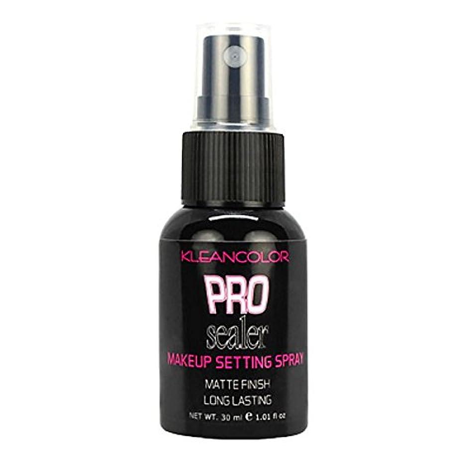 メロン時々時々誠実(6 Pack) KLEANCOLOR Pro Sealer Makeup Setting Spray - Matte Finish (並行輸入品)