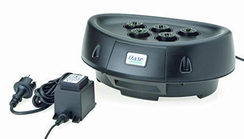 OASE 50514 Water Starlet|Wasserspiel| Wasserspielpumpe | Teichdekoration | schwimmend | LED-Beleuchtung