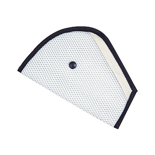 Gurtklemme für Kindersitz, Dreieck-Klammer für Autositze mit Sicherheitsgurt für Kinder (grau) 1 Stück