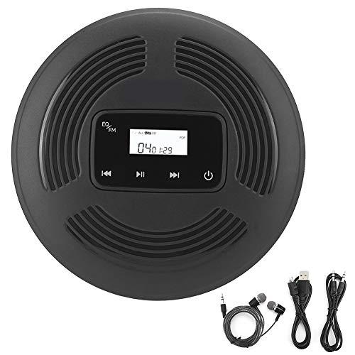 Reproductor de CD portátil recargable, pantalla LCD con retroiluminación Walkman, reproductor de...