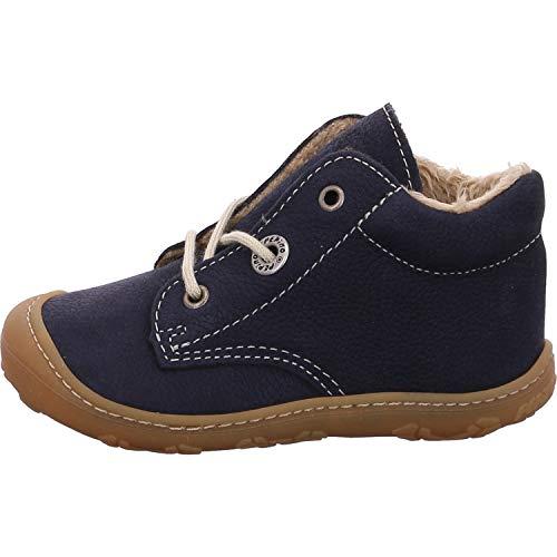 RICOSTA Pepino by Unisex - Kinder Winterstiefel CORANY, WMS: Weit, Kinder-Schuhe Klett-Schuhe Spielen Freizeit leger Winter-Boots,See,24 EU / 7 UK