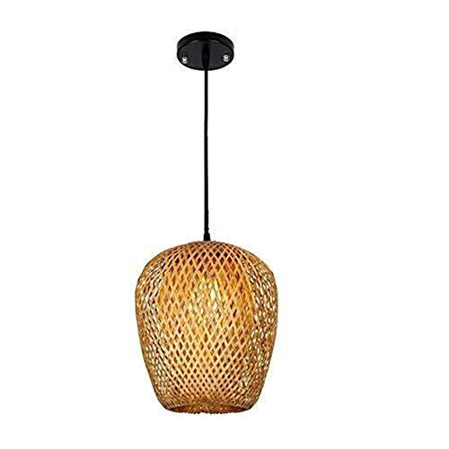 CDXZRZYH Retro araña Creativa de bambú Araña/Restaurante Tea Bar Lámpara de pie/Sudeste asiático Sala de Estar Dormitorio Restaurante Bar Corredor Pantalla de bambú Pantalla