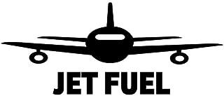 PressFans - Jet Fuel Aviation Pilot Decal Sticker