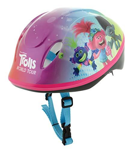 Trolls 2 Safety Helmet, Casco di Sicurezza Ragazza, Multicolore, 48-54cm