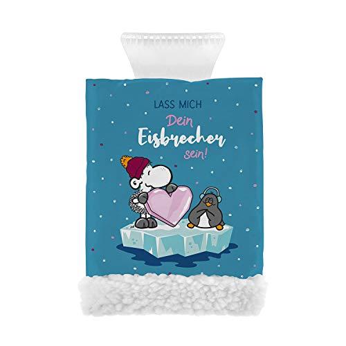 Sheepworld 49855 Handschuh mit Fleece-Futter, Spruch Eisbrecher Eiskratzer, Mehrfarbig, Einheitsgröße