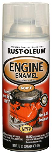 Rust-Oleum 248944 Automotive Engine Enamel Spray Paint, 11 Oz, Clear