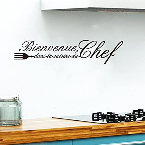 Usmnxo Etiqueta engomada de la Pared del Vinilo del Plato de la Etiqueta engomada Mural del Papel Pintado Azulejo de la Cocina Decoración del hogar 25x112cm