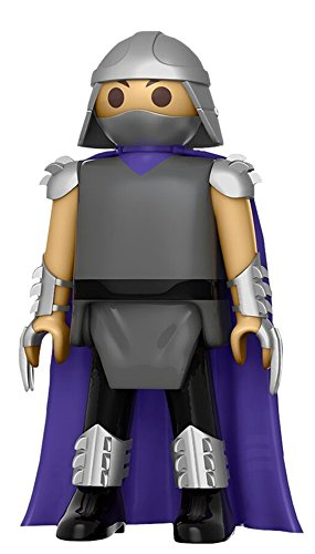 Funko - Figurine Tortues Ninjas TMNT Playmobil - Shredder 15cm - 0849803084684