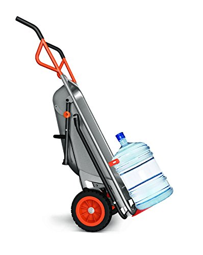 WORX WG050 Aerocart Multifunktions-Schubkarre – 8-in-1 Funktion: Sackkarre mit Vollgummireifen, Gartenkarre, Tragehilfe, Müllbeutelhalter uvm. - 2