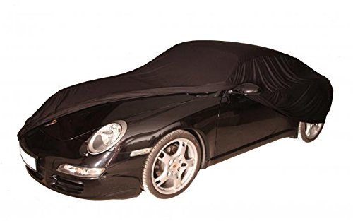 Autoabdeckung.com Soft Indoor Car Cover Stretch Delux Abdeckplane Premium