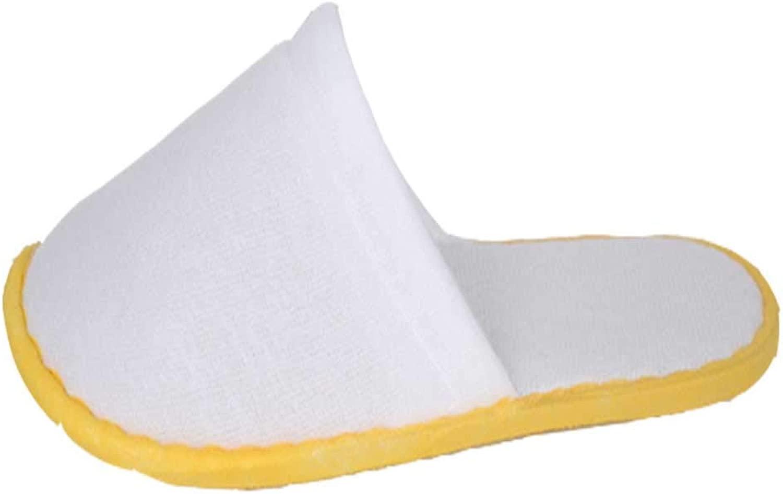 100 Paia di Pantofole per calienteel Infradito Pantofola da Salone di Bellezza Non Pantofola Gituttia Camicia in CAMOSCIO 100 Paia