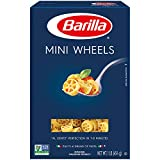 Barilla Pasta, Mini Wheels Pasta, Rotelle, One 16 Ounce Box of Small Pasta