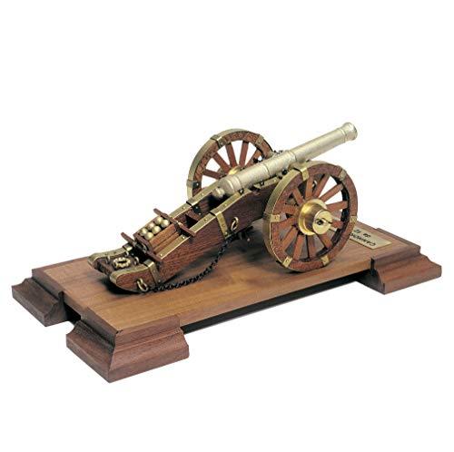Mantua Model Cannone Napoleonico XVIII secolo Kit in Legno Scala 1:17 Art.804 Made in Italy