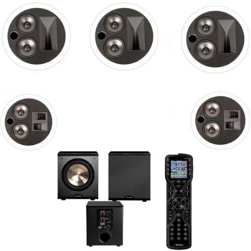 Klipsch KS-7502-THX 5.1 In-Wall System-Universal Remote MX450 URC-FREE PL-200