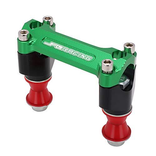 per K.a.w.a.s.a.k.i KX250F KX 250 2013-2016// KX450F KX 450 2013-2016 2014 2015-verde JFG RACING Morsetto per Manubrio da 28 mm