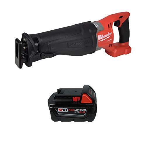 Milwaukee 2720-20 18V Reciprocating Saw w/ 48-11-1850 5.0Ah Battery
