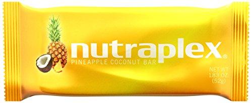 Nutraplex Bar - Pineapple Coconut by for Unisex - 12 X 1.83 Oz Bar