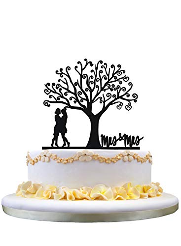 zhongfei Lesbian Mrs & Mrs Wedding Cake Topper