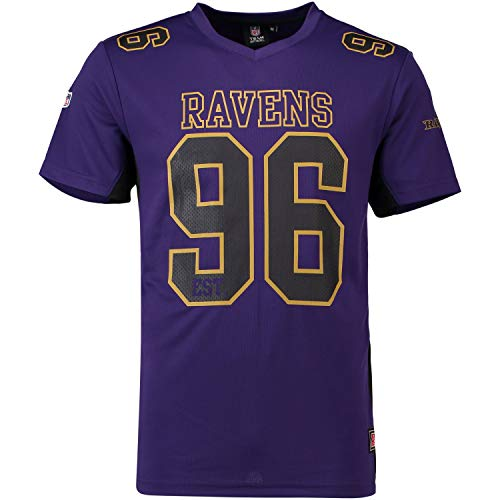 Majestic NFL Baltimore Ravens Moro Polymesh Jersey Trikot (XL)