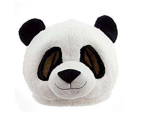 Disfraz de oso de panda disfraz de oso de mascota con máscara de animal para adultos