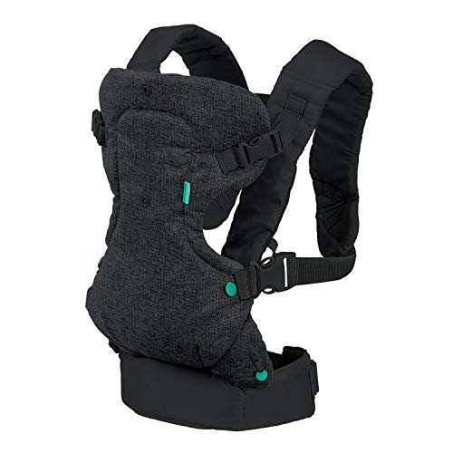 Infantino Flip 4-in-1 Convertible Carrier (Black)