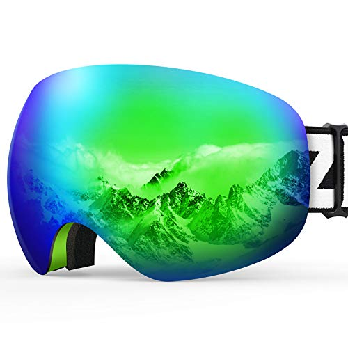 Our #2 Pick is the ZIONOR X10 OTG Snow Goggles