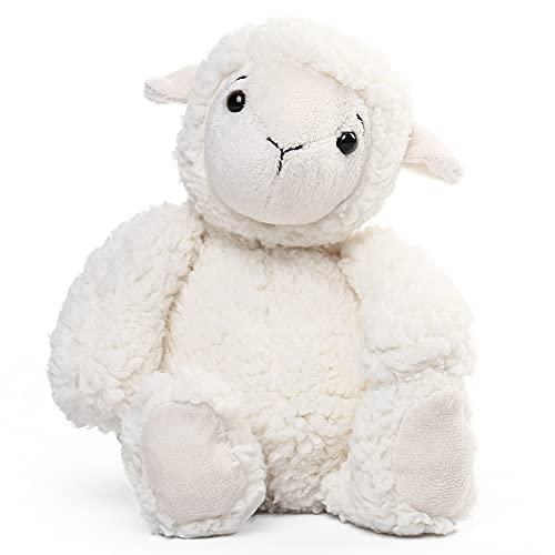 12' Lamb Stuffed Animal, Cuddly Lamb Plush Toy for Nursery Decor, Lovely Fluffy Sutffed Sheep, Birthday Baby Shower Newborn Gifts for Kids, Girls
