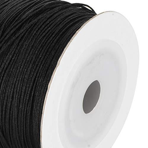 Hilo de coser Antidesgaste Anudado Alambre tejido Cuerda trenzada de poliamida 426.5 pies para ensartar pulseras para collares