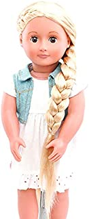 Our Generation Phoebe Hair Grow Doll with Striped Ribbon