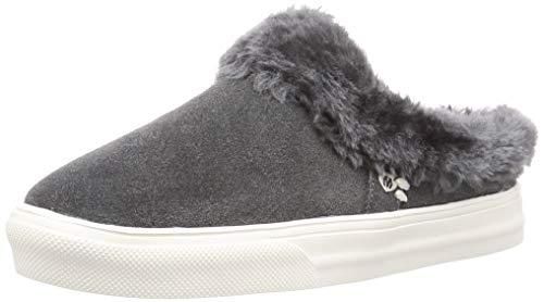 Minnetonka Women's Windy Casual Suede Slip-On Sneakers
