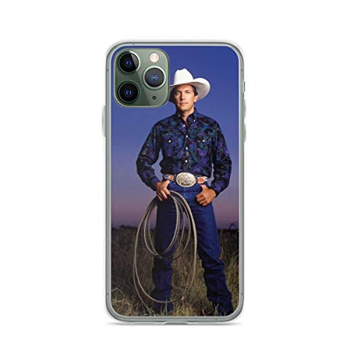 Phone Case George Strait Compatible with iPhone 6 6s 7 8 X XS XR 11 Pro Max SE 2020 Samsung Galaxy Shock Bumper