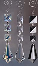 Homeford Acrylic Chandelier Crystals Icicle Link, Clear
