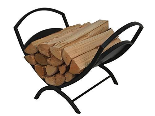 Fireplace Log HolderFolding Firewood Rack Indoor, Outdoor Firewood Rack,Stacking Rack,Storage Rack for Firewood by Fire Beauty