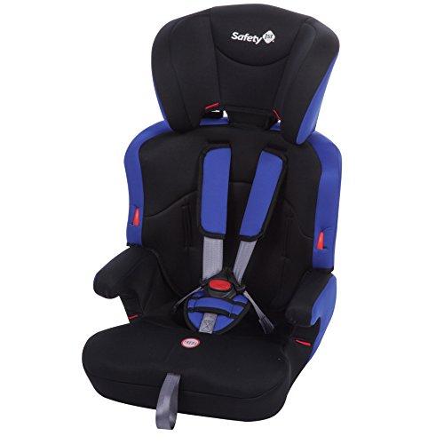 Safety 1st Ever Safe Kindersitz, mitwachsender Gruppe 1/2/3 Autositz (9-36kg), ab ca. 12 Monate bis 12 Jahre, plain blue