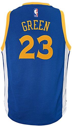 Outerstuff Youth Boys NBA Player Swingman Jersey-Road Golden State Warriors-Draymond Green, Youth Medium (10-12)