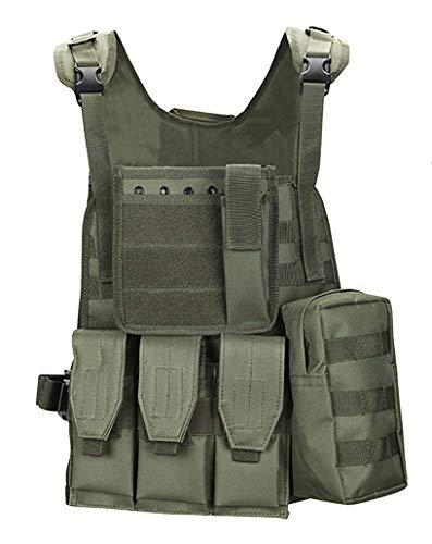 ThreeH Gilet tattico di Applicazione della Legge Ingranaggio Militare Paintball Indumento di equipaggiamento Protettivo dell'Esercito di Polizia SA0103B