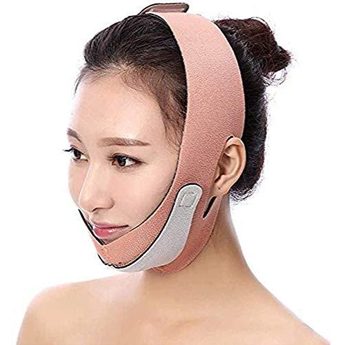 HengYue Masque Facial Mince Et Léger Masque Facial De Levage De Bandage Facial De Levage Masque Anti-Pression De Levage Facial,Pink