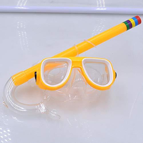 Viner Kinderen zwembril Snorkelen Duiken Ademhalingsbuis 5 kleuren Zwemmen Watersport Brillen Duikbrillen, Oranje, One size
