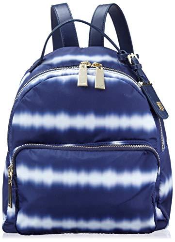 Tommy Hilfiger Damen Rucksack Julia, Blau (marineblau / weiß), Einheitsgröße