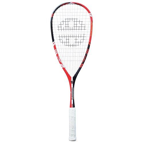 Unsquashable Squash Schläger Y TEC 7000 C4 2013, Schwarz/Rot, 10