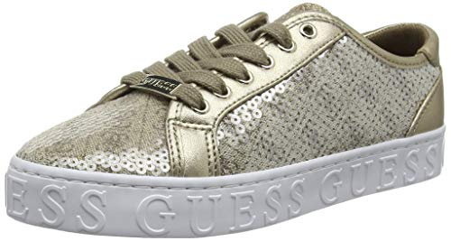Guess Graser/Active Lady/Fabric Sneaker Donna, Marrone (Brown Beibr) 40 EU