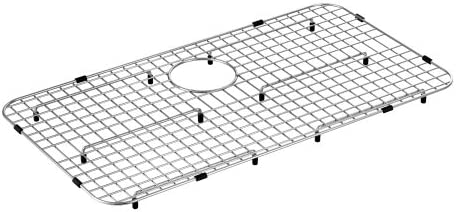 Moen Ga780b Center Rear Drain Bottom Sink Grid 29 X 16 Stainless Steel Amazon Com