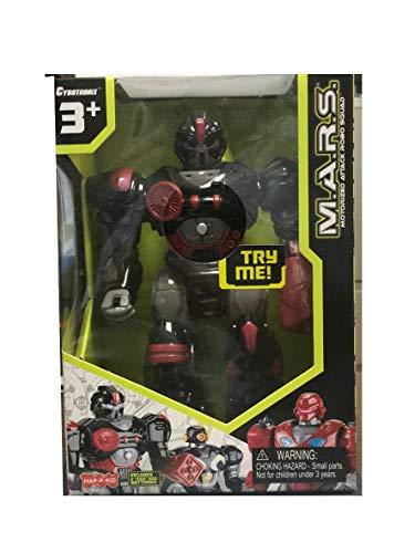 M.A.R.S. Motorized Attack Robo Squad - Black Robot