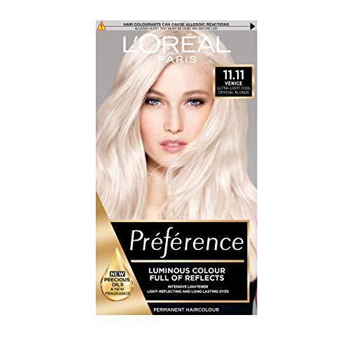 L'Oreal Preference Permanent-Haarfarbe, Nr. 11, sehr helles Kristallblond