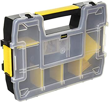 Stanley Plastic 8 Compartments SortMaster Storage Organizer