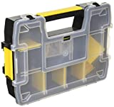 STANLEY SortMaster Organizer Box With Dividers, Light, 1-Pack (STST14021)