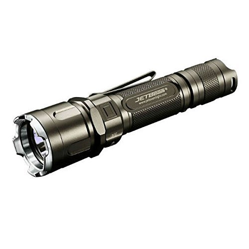 JETBeam Jet-3M PRO Jet- 3M PRO Military Series Cree XP-L 1100 Lumen LED Flashlight, Grey