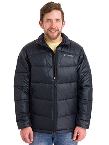 Columbia Men's Gold 650 TurboDown Winter Hooded Jacket